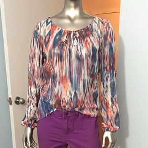 Colourful Designer Blouse Made by Sandwich